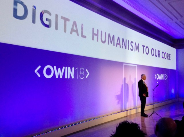 OWIN18: Digital Humanism at Our Core