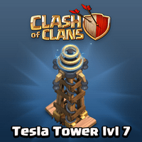 Clash of Clans Hidden Tesla Level 7