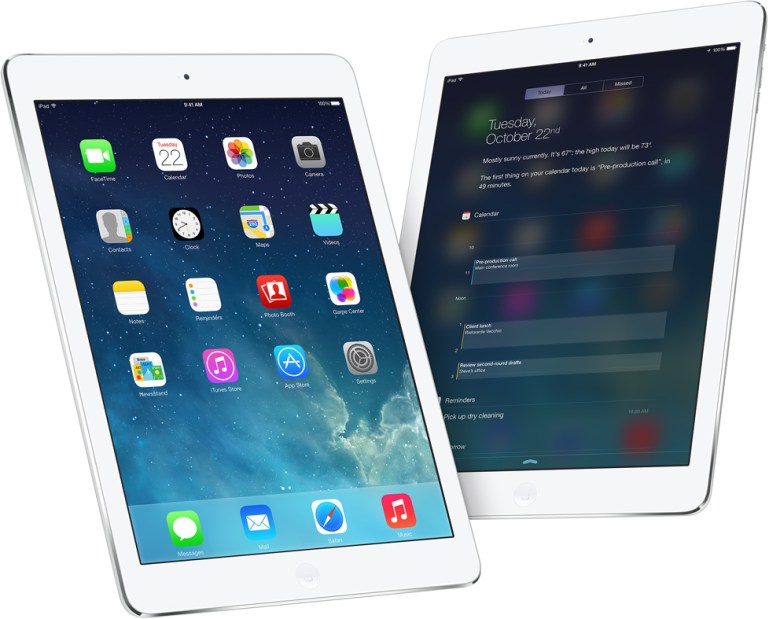 Best mobile tablet award goes to… iPad Air!