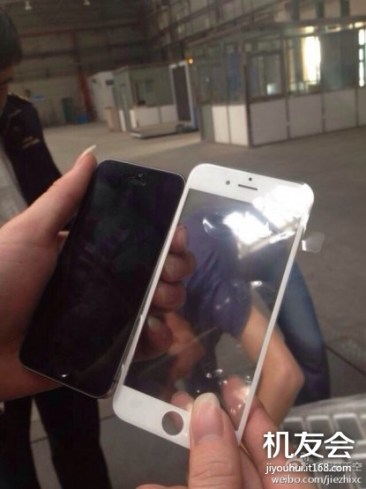 iPhone 6: Φωτογραφία από το μπροστινό πάνελ