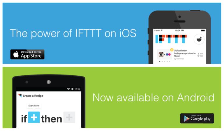 IFTTT: Αυτοματισμός για το smartphone σας