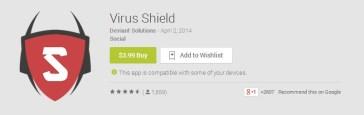 Virus Shield: Η εφαρμογή ασφάλειας για Android που ήταν… απάτη!