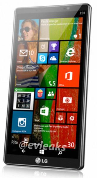 LG Uni8: Συσκευή με Windows Phone 8.1