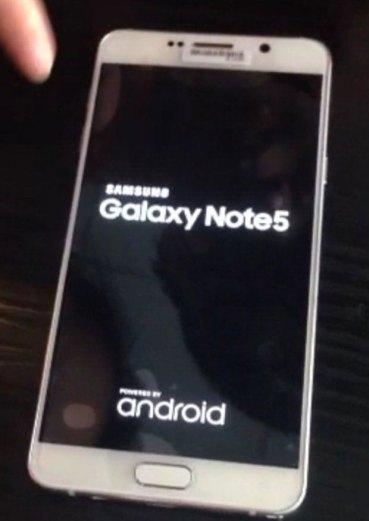 Samsung Galaxy Note 5: Οι πρώτες φωτογραφίες του