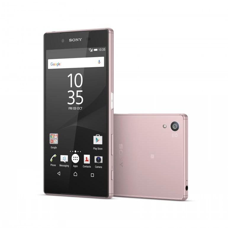Sony Xperia Z5: Διαθέσιμο και σε… Ροζ χρώμα