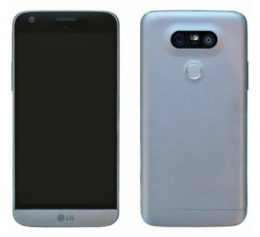 LG G5: Ζωντανή φωτογραφία της συσκευής