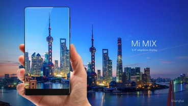 """Το Xiaomi Mi MIX με οθόνη 6.4 ιντσών """"χωρίς πλαίσιο"""""""