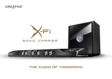 Η Creative παρουσιάζει το X-Fi Sonic Carrier