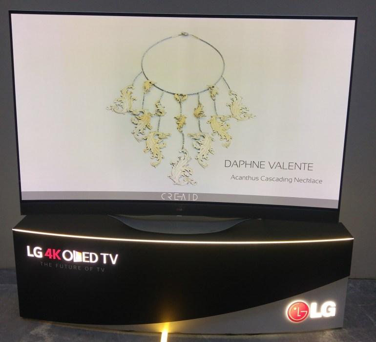 Η LG Electronics Hellas χορηγός της εκδήλωσης 'Designer Jewelry'