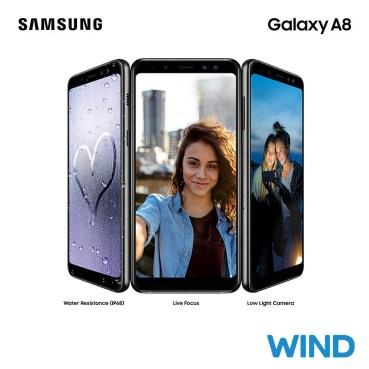To Samsung Galaxy A8 2018 στη Wind