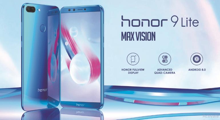 Honor 9 Lite με τέσσερις συνολικά κάμερες, έρχεται στην Ευρωπαϊκή αγορά