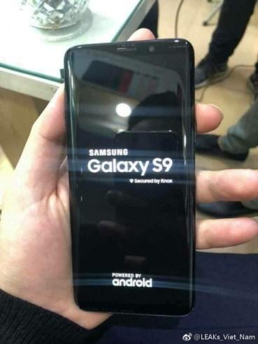 Live φωτογραφίες του Galaxy S9