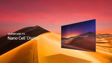 Νέες SUPER ULTRA HD TV Nano Cell τηλεοράσεις από την LG