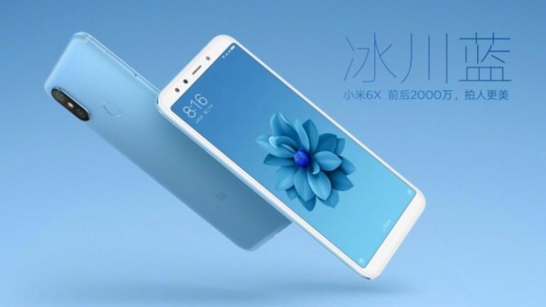 Η Xiaomi παρουσίασε το Mi 6X