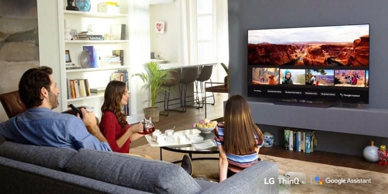 Η LG ανακοινώνει την ενσωμάτωση του Google Assistant στη σειρά τηλεοράσεων του 2018 με ΑΙ τεχνολογία