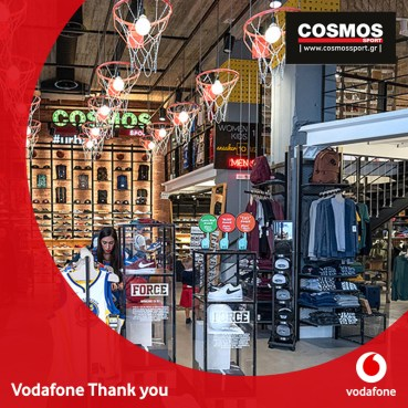 Vodafone Thank You & Cosmos Sport