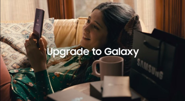 """Η Samsung προτρέπει τους χρήστες παλαιότερων iPhone να """"αναβαθμιστούν"""" σε ένα Galaxy S9 Plus"""