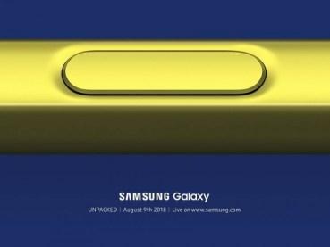 Στις 9 Αυγούστου η παρουσίαση του Galaxy Note 9