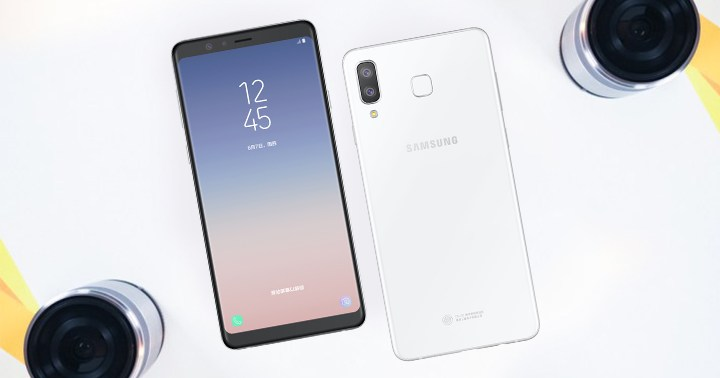 H Samsung παρουσίασε το Galaxy A8 Star με οθόνη 6.3 ιντσών