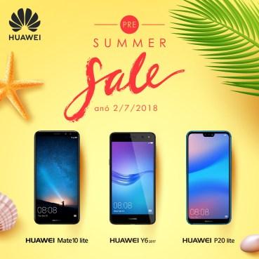 Προσφορές από τη Huawei πριν ξεκινήσουν οι εκπτώσεις
