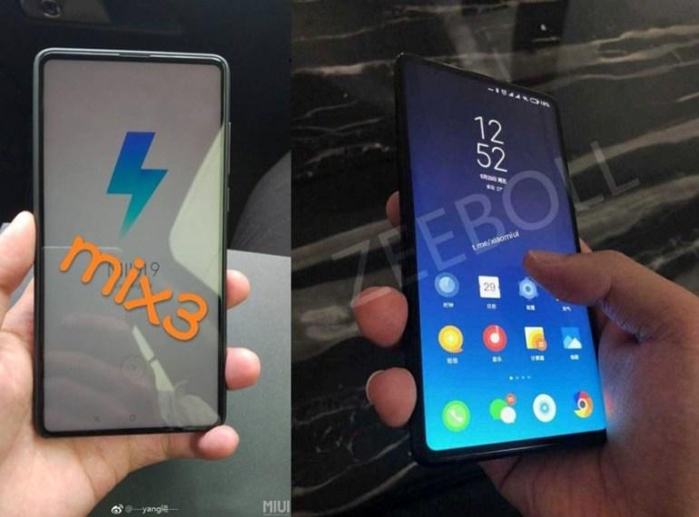 Φωτογραφίες του επόμενου Mi Mix 3 της Xiaomi