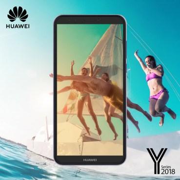 Καλοκαίρι με τα Smartphones Y Series 2018 της Huawei