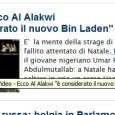 Sulla CNN va in onda il primo video di Anwar al-Awlaqi (o al-Awlaki, all'americana) targato al-Malahim, cioè l'agenzia di news di al-Qaida nella Penisola araba. Al-Awlaqi è una vecchia conoscenza. […]