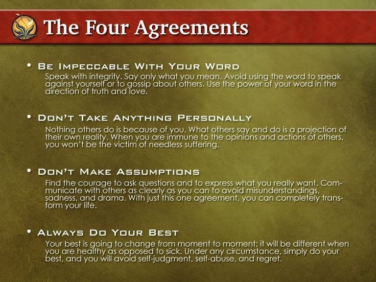 The Four Agreements 2018 by Don Miguel Ruiz | eBay