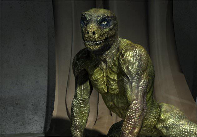 Reptiloide Wesen