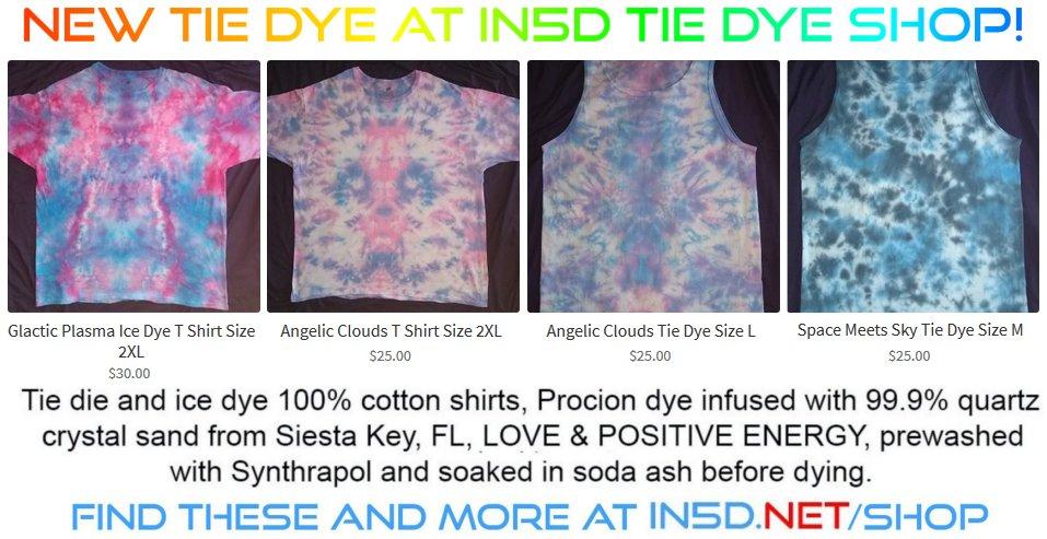 Today's New Tie Dye Shirts, NEW XXL's Too!