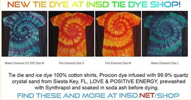12 NEW FIRE & WATER ELEMENT shirts in all sizes! These and MANY MORE here: https://in5d.net/shop/?orderby=date
