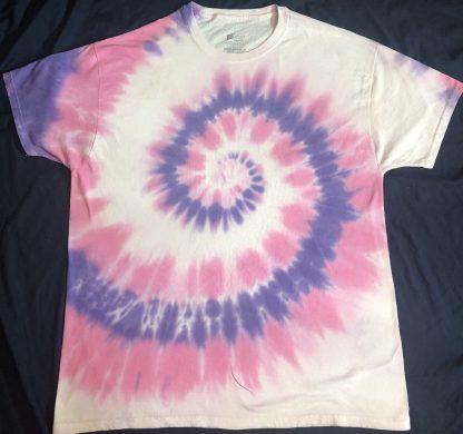 Violet Nebula Quantum Tie Dye