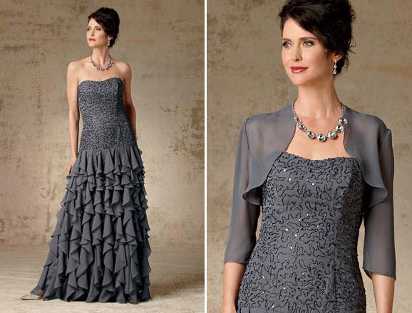 » Light Mother Of The Groom Dresses For Summer, Beaded