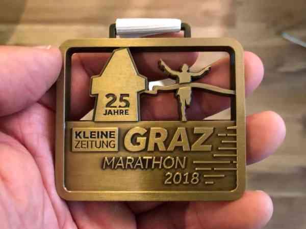 Graz Marathon 2018: Veni! Vidi! Vici!