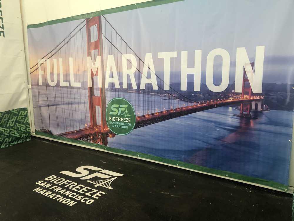 San Francisco Marathon 2019: Ankunft und Messe