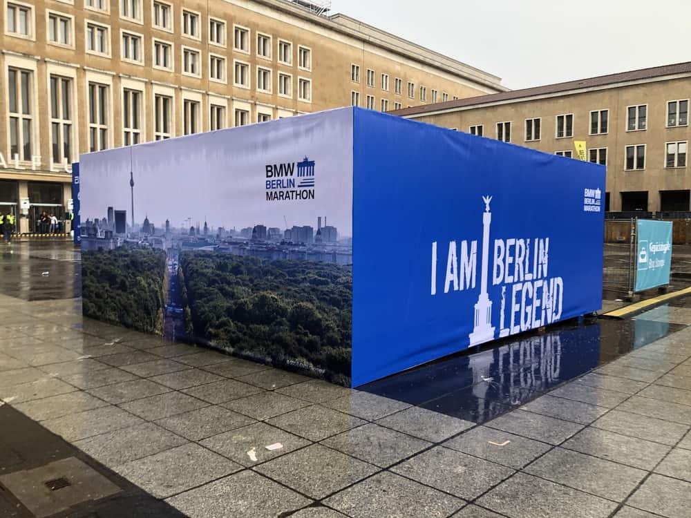Berlin Marathon 2019: Anreise mit Hindernissen