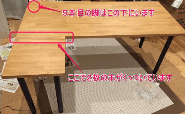 L字型机の解説付き完成形
