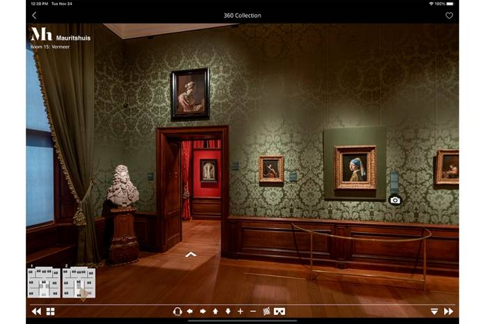 Mauritshuis Second Canvas app (tablet)