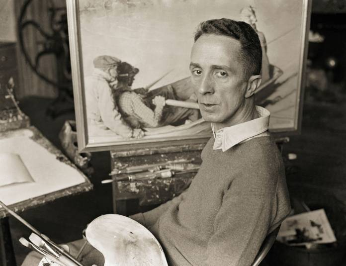 Norman Rockwell. Photo: Bettmann