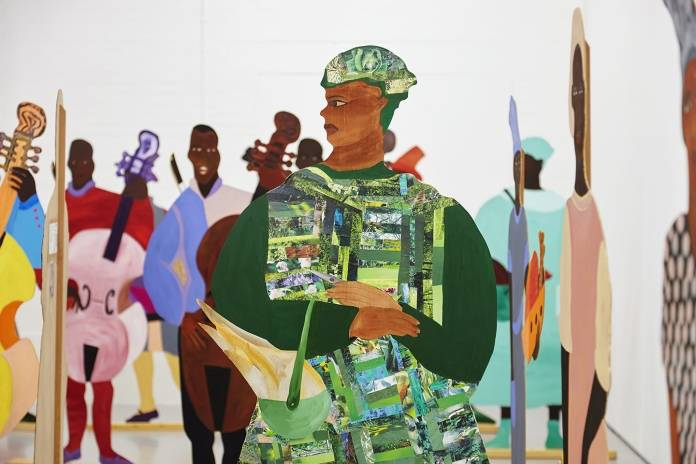 Lubaina Himid, Naming the Money (2004). Photo: Stuart Whipps