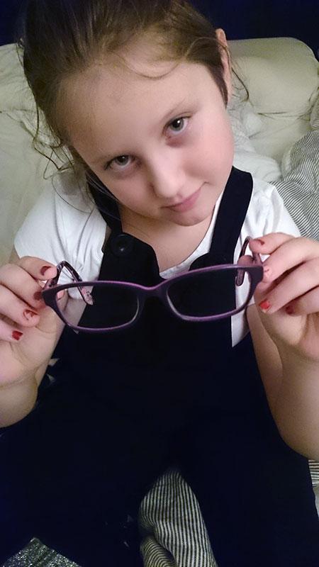 Ängla-glasögon