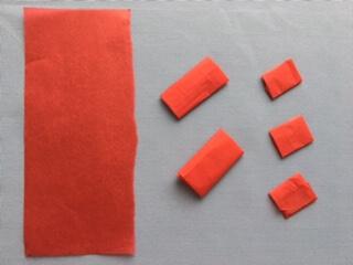 折り紙で作ったマグロ