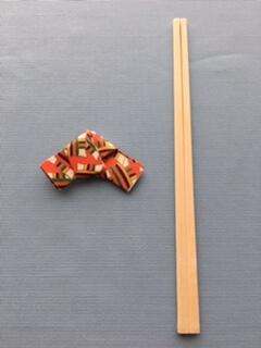 折り紙の箸置きの作り方④