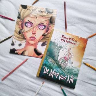 The two graphic novels I received