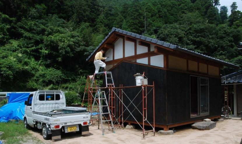 Architecture Maison Traditionnelle Japonaise A La