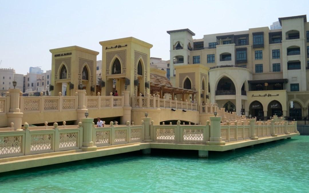 I'm not a fan of Dubai…