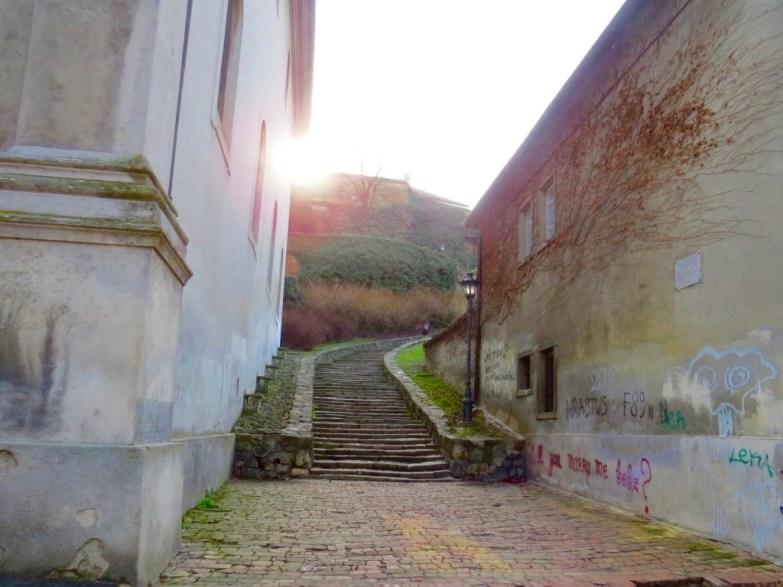 exit stairs novi sad