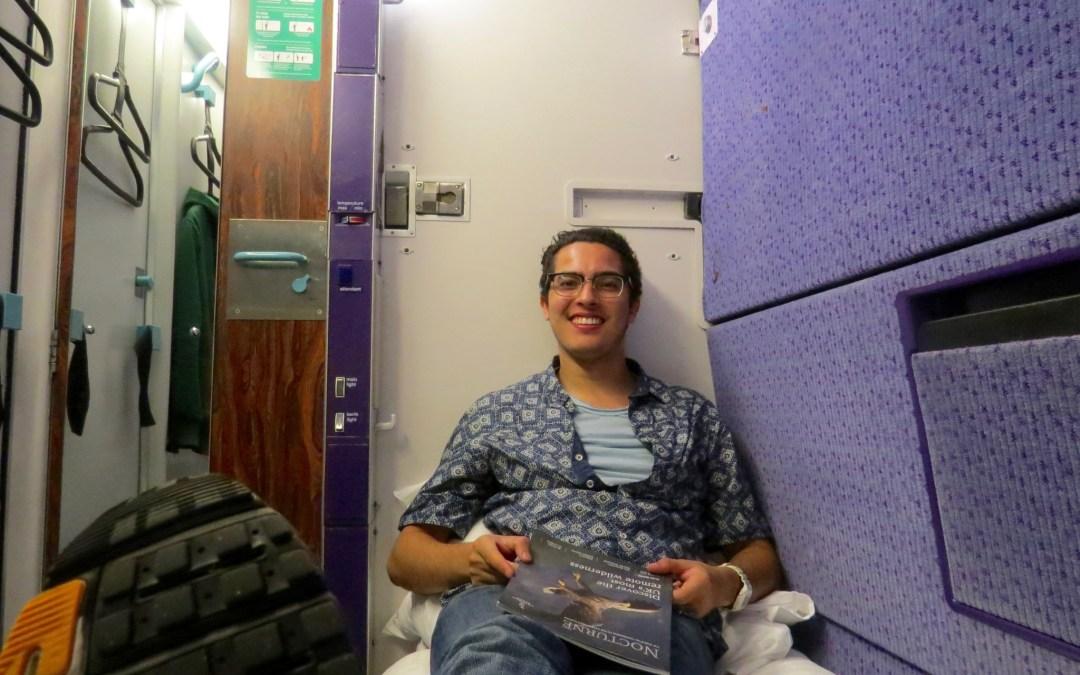 Scotland to London on The Caledonian Sleeper