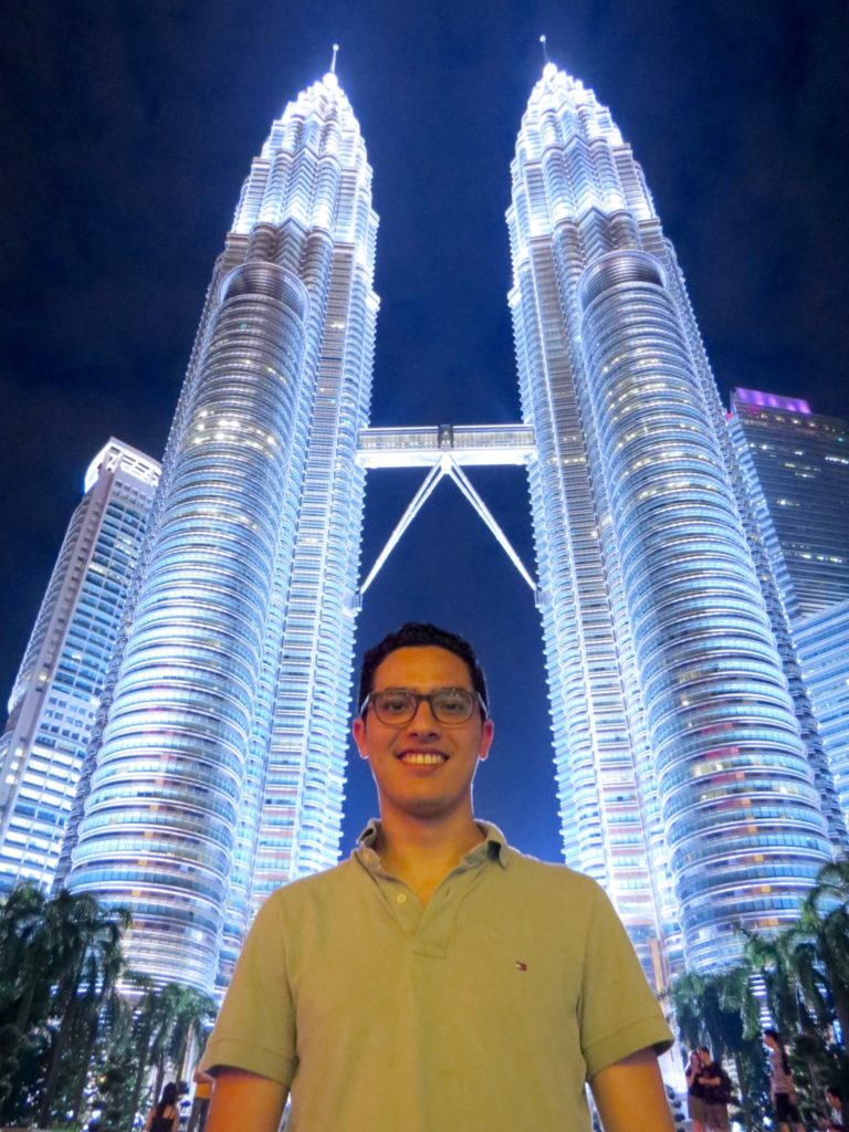 Kula Lumpur's Petronas Twin Towers are seen from every corner of the city!