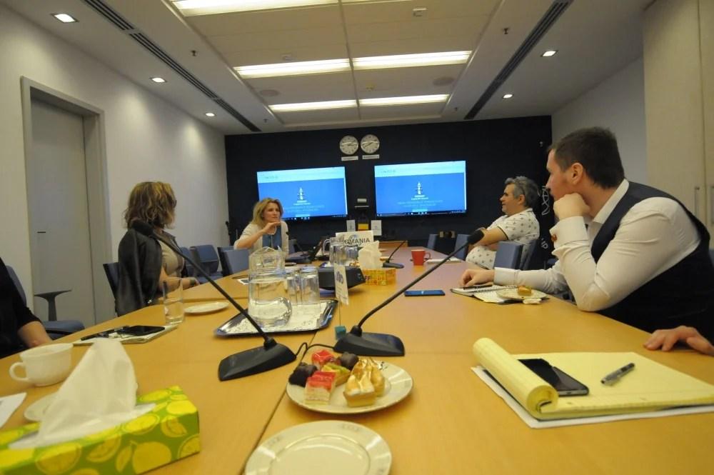 Întâlnirea INACO cu reprezentanța Băncii Mondiale
